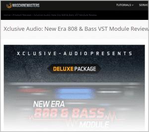 Maschine Masters - review - New Era 808 & Bass - Blog post2