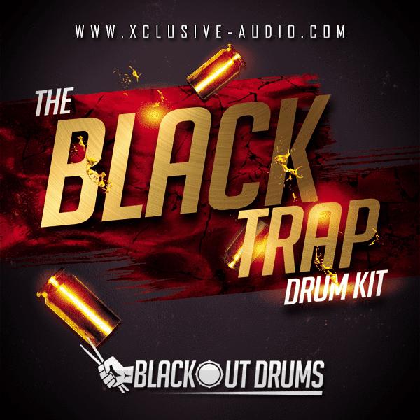 The Black Trap Drum Kit